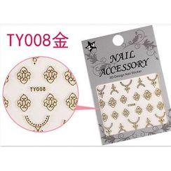 Benlyz - 3D Nail Sticker (TY-8G)