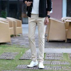 Denimic - 純色修身褲