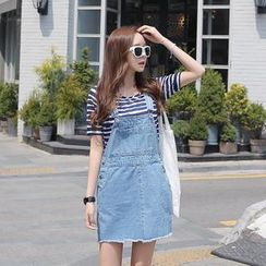 Envy Look - Denim Jumper Skirt