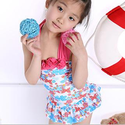 Zeta Swimwear - Kids Floral Swimdress