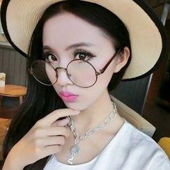 OJOS - Round Frame Sunglasses