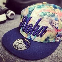 BYME - Watercolor Letter Embroidered Snapback