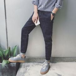 Dubel - Washed Slim-Fit Jeans