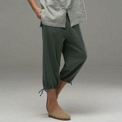 Sparrow Farm - Plain Cropped Pants