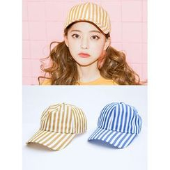icecream12 - 條紋棒球帽