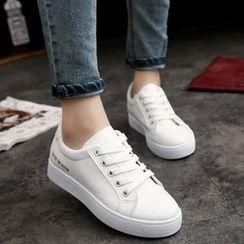 MISSEY - Number Print Sneakers