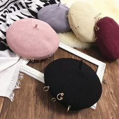 FROME - Ring Accent Beret