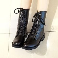 EMIL - Lace Ups Short Boots