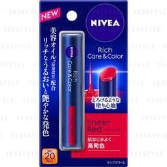 NIVEA - Rich Care & Color Lip (Sheer Red) SPF 20 PA++