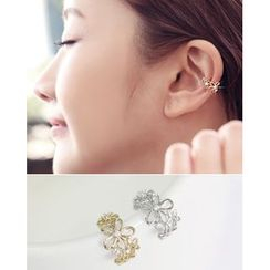 Miss21 Korea - Floral-Shape Ear Cuff (Single)