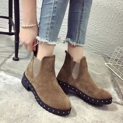Yoflap - Faux Suede Ankle Boots