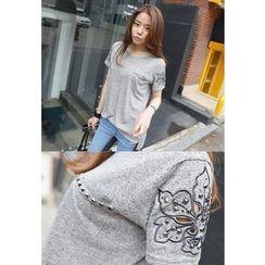 REDOPIN - Metal-Studded T-Shirt