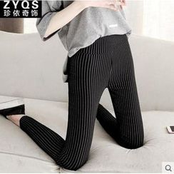Jenny's Couture - Pinstriped Skinny Pants