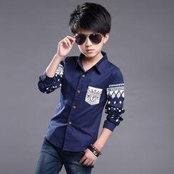Famula - Kids Long-Sleeve Printed Shirt