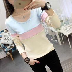 Emeline - Color Block Pullover