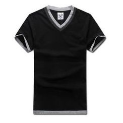 MR.PARK - Inset Top Short-Sleeve T-Shirt