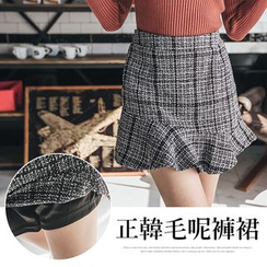 PUFII - Plaid Skorts