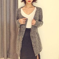 Isadora - Patterned Notch Lapel Coat