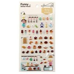 Full House - Bany Bakery Stickers