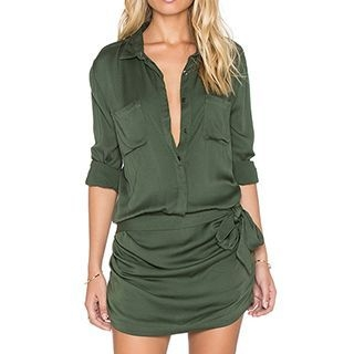 Obel - Collared Playsuit