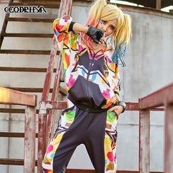 Cooreena - Hooded Printed Jacket
