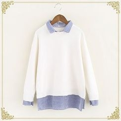 Fairyland - Mock Two Piece Sweater