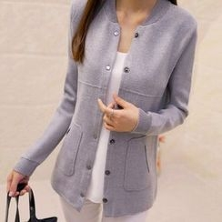 anzoveve - Snap-Button Cardigan