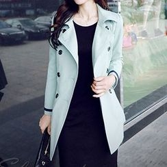 Romantica - Double-Breasted Trench Coat