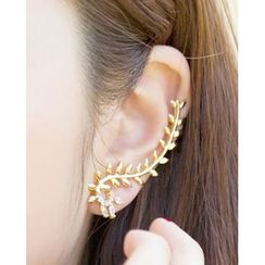 Miss21 Korea - Leaf Ear Cuff (Single)