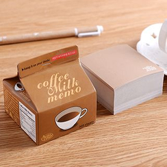 MissYou - Milk Box Memo Pad