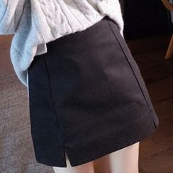 lilygirl - Plain A-Line Skirt