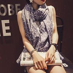 Follow Me - 星星印花围巾
