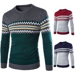 Constein - Patterned Sweater
