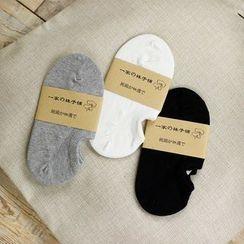 Socka - 粗线纯棉船袜
