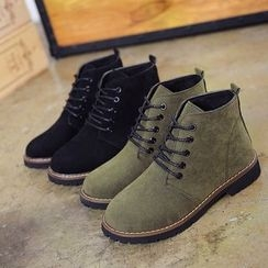 Micha - Lace-Up Ankle Boots