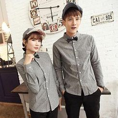 Azure - Couple Long-Sleeve Shirt