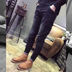 YONDER - Distressed Slim-Fit Jeans