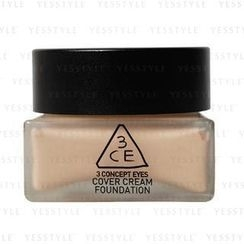 3 CONCEPT EYES - Cover Cream Foundation (Sand Beige)