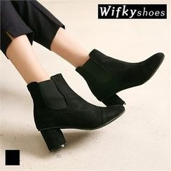 Wifky - Chunky-Heel Ankle Boots