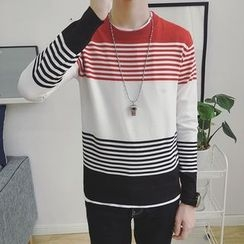 Arthur Look - Striped Sweater