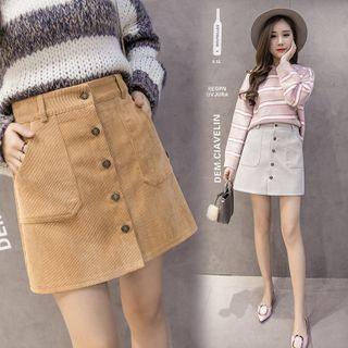 YOYO - Corduroy Mini Skirt