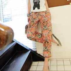 LIVA GIRL - Print Harem Pants