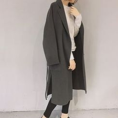 Bloombloom - Slit Long Coat