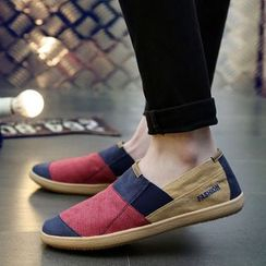 MARTUCCI - Color-Block Slip-Ons