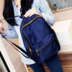 Bag Hub - Plain Nylon Backpack
