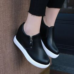 Sunsteps - Platform Slip Ons