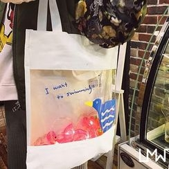LMWZ - Cartoon Shopper Bag