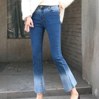 OCTALE - Cropped Wide Leg Jeans