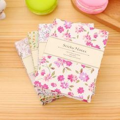 Color Station - Floral Small Notebook
