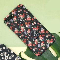 Kindtoy - Floral Print Mobile Case - iPhone 7 / 7 Plus